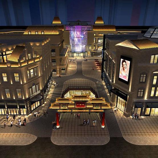 四海唐人街商业广场主题项目雕塑全球征集