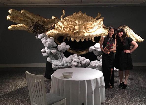 """扬州姑娘做一只""""金饕餮""""入围纽约雕塑大奖"""