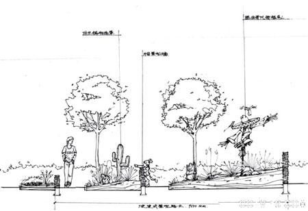 最新经典钢笔手绘园林景观设计方案效果图 全套