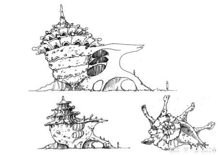 最新经典钢笔手绘园林景观设计方案效果图(全套)