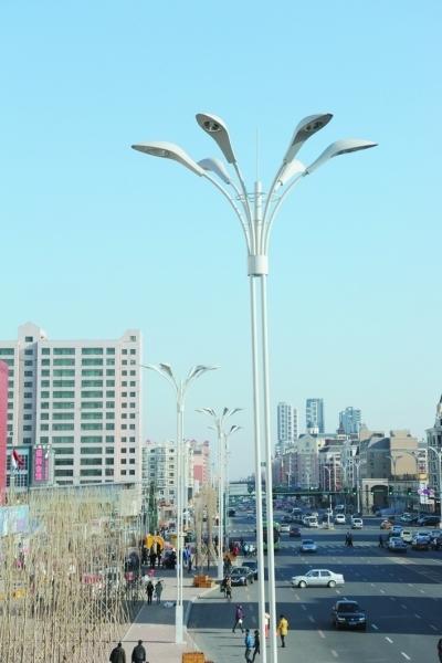 欧式路灯杆图片