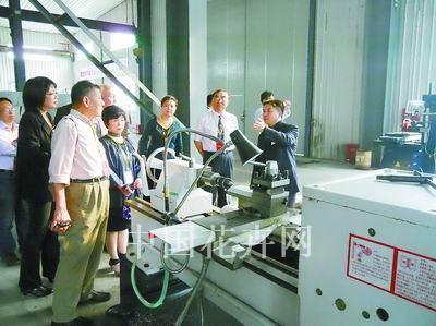 上海华维节水灌溉奉浦工厂隆重开业中小学招聘武汉图片