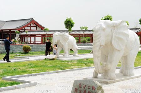 雕塑小品 城市园林景观的点睛之笔