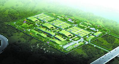 长沙绿色建筑标杆――梅溪湖国际新城效果图