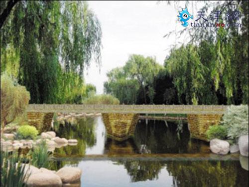 """""""二十四桥""""以十二个风景名胜和十二个园林大师命名"""