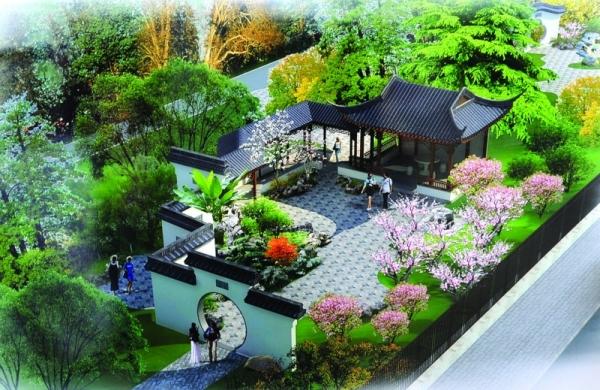渭南市苏园风景