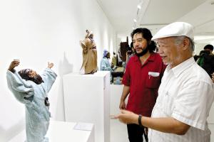 刘悦:雕塑是城市的眼睛