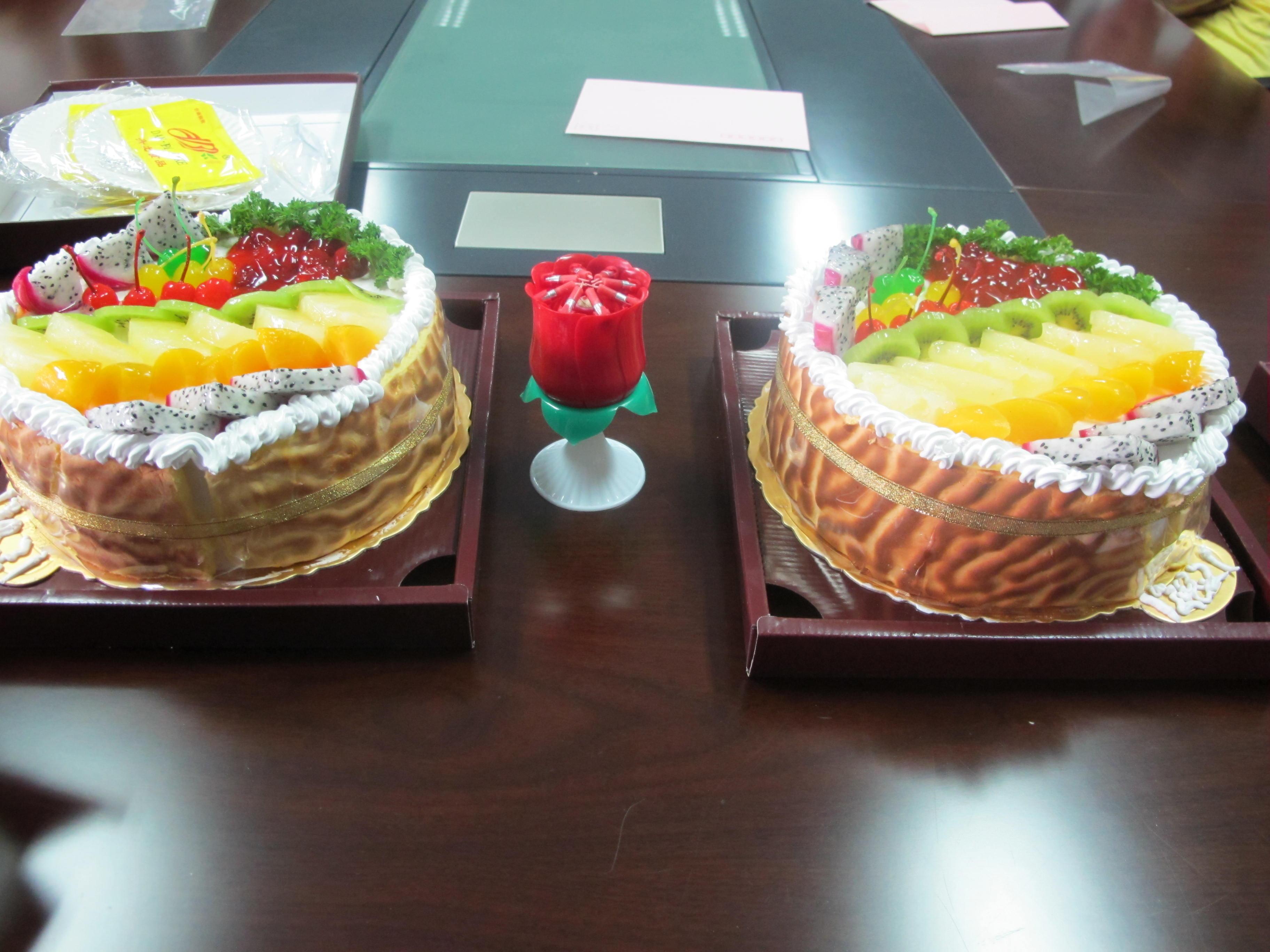 生日会现场蛋糕