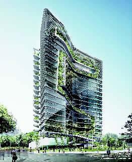 杨经文打破建筑设计的传统思路