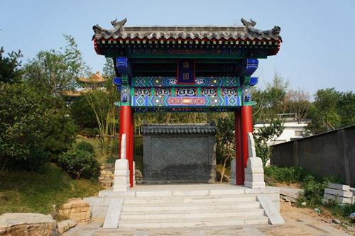 青岛:济宁园 精湛古建传统工艺再现世园会