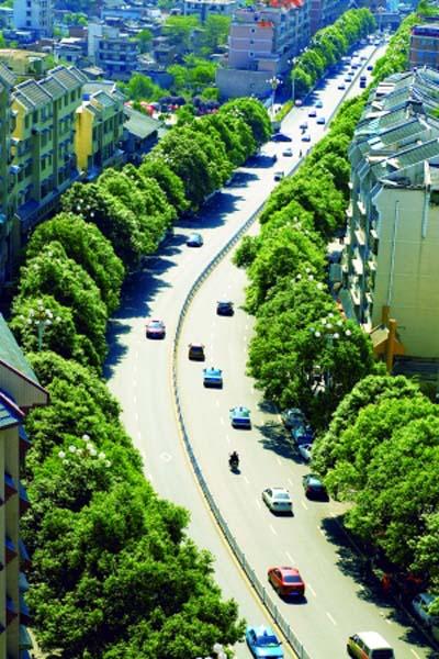 贵州:园林绿化助力安顺市城镇化建设