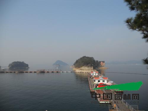 三八节 中国园林网全体女员工千岛湖畅享春日之行