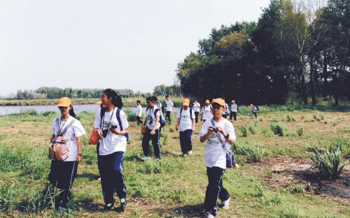 沈阳:走进蒲河生态廊道 认识湿地