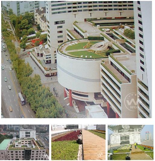 商场屋顶花园设计平面图