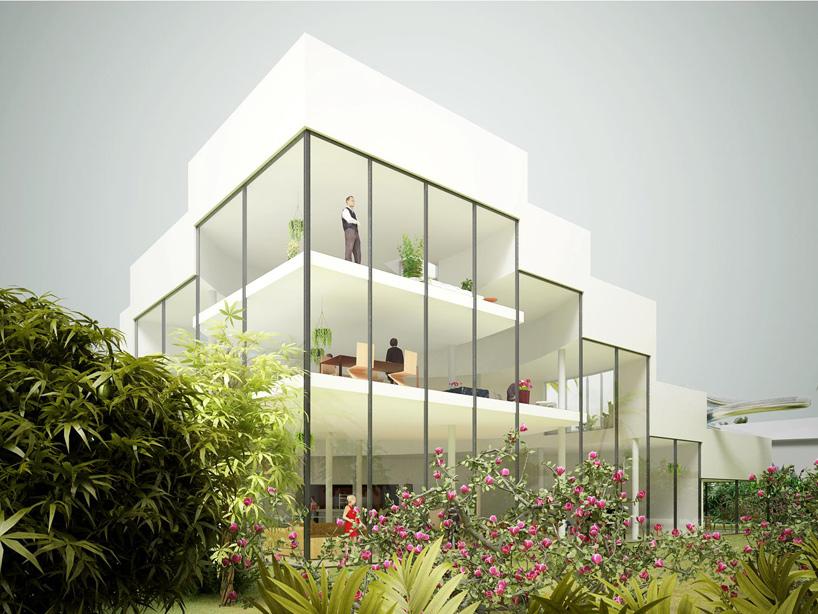 【案例欣赏】 佛罗里达屋顶水池住宅设计方案
