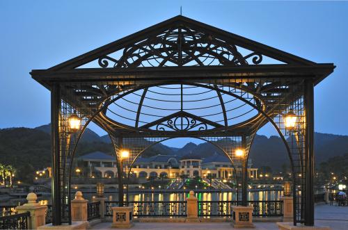 欧式古典廊架