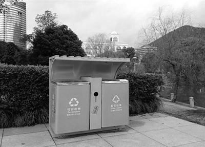 古城垃圾桶图片大全
