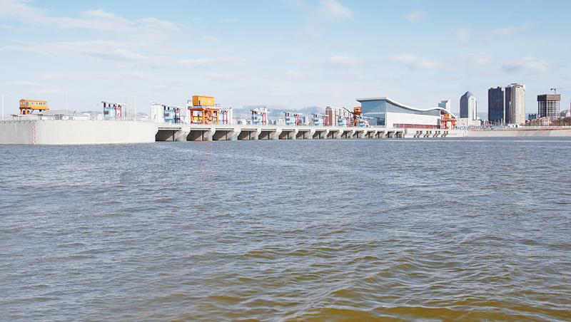 内蒙古:乌海湖畔壮美景观 构成一道美丽风景线 - 市场