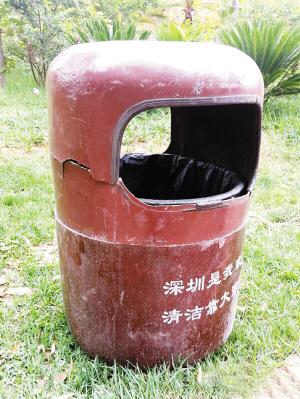 """深圳垃圾桶""""穿越""""到昆明"""
