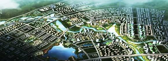 肇庆新区超5200亩湿地公园设计浮出水面