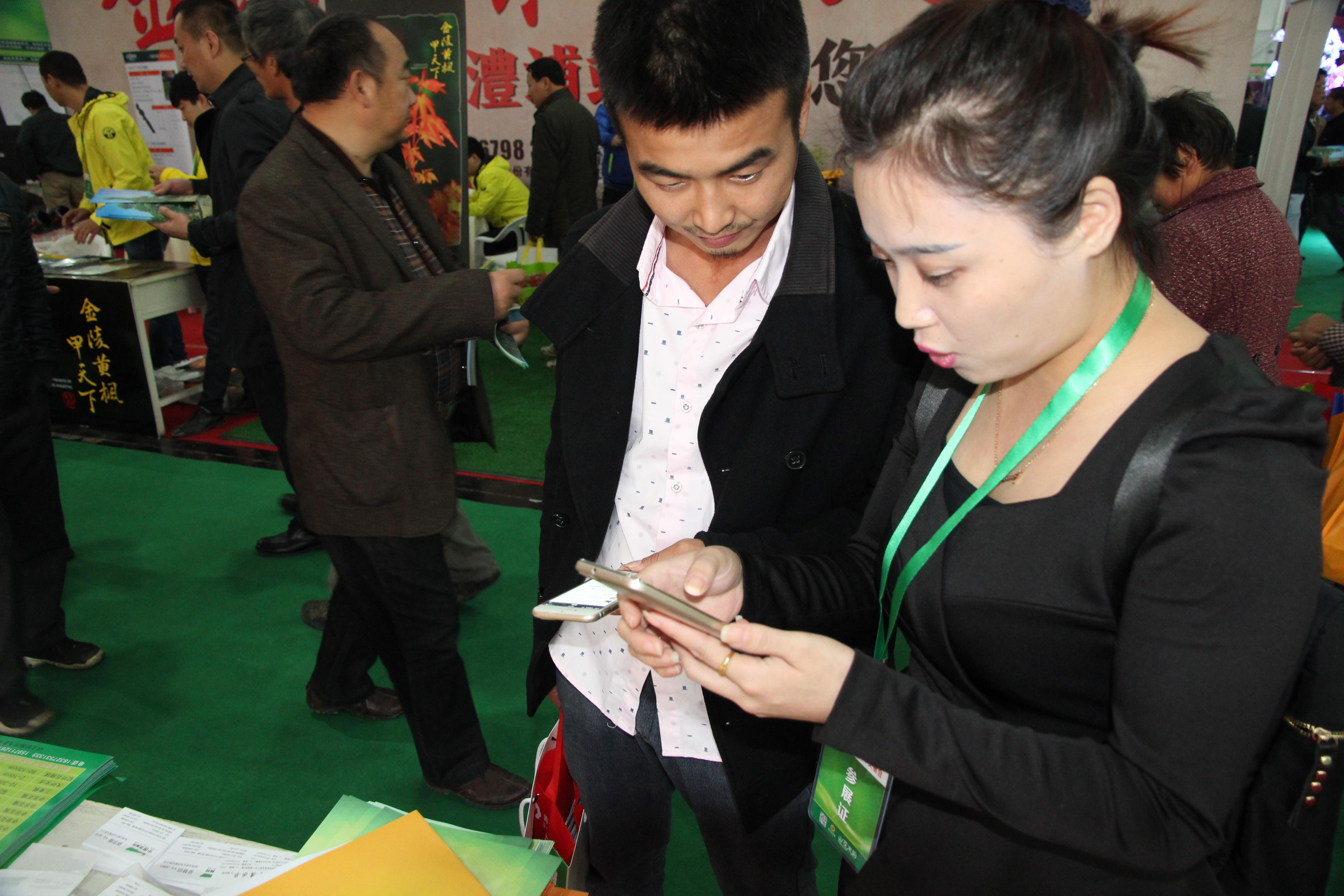 教客户用手机登录中国园林网