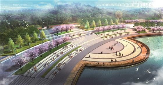 仁寿城市湿地公园(建设中)_眉山_百度地图图片