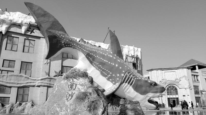 据了解,修建大鲨鱼的邯郸海洋公园展示面积超过 7000平米,对外展出
