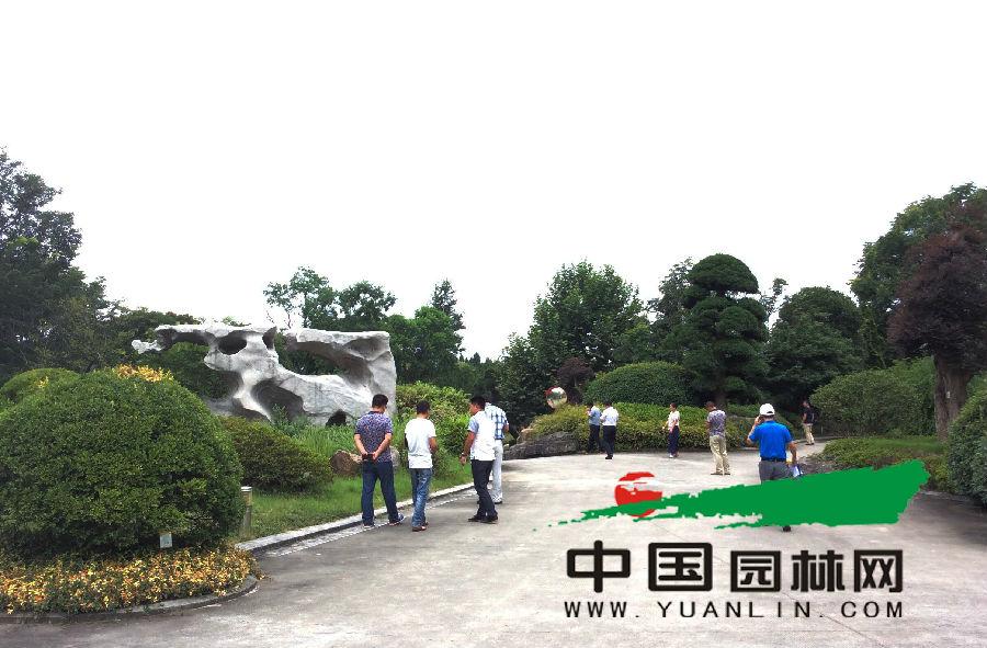 全国苗乡行浙江线考察团走进杭州天香园林股份有限公司