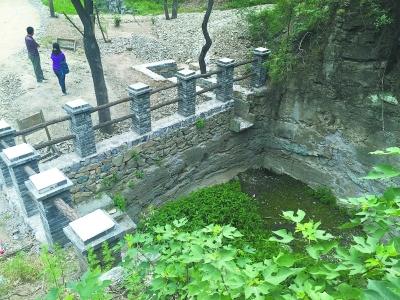 北京:百望山森林公园修复百年水系恢复集雨功能
