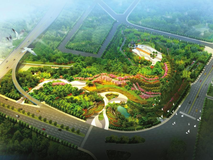 宜宾南岸西区新建城市绿地公园