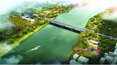 扬州七河八岛核心区又添新景观