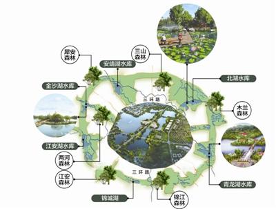 成都江安湖规划�_成都环城生态区规划编制全部完成-园林资讯-园林网
