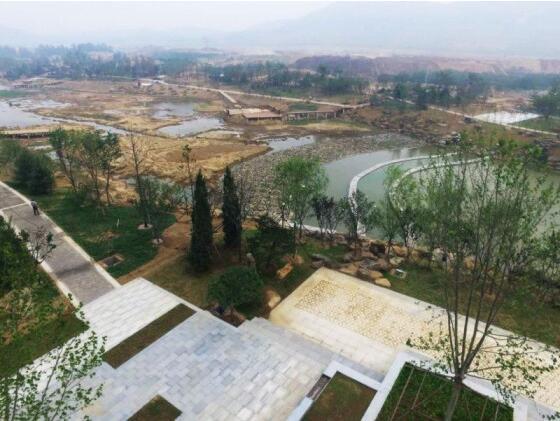 青岛白果树河道治理及景观工程全面开工- 园林资讯