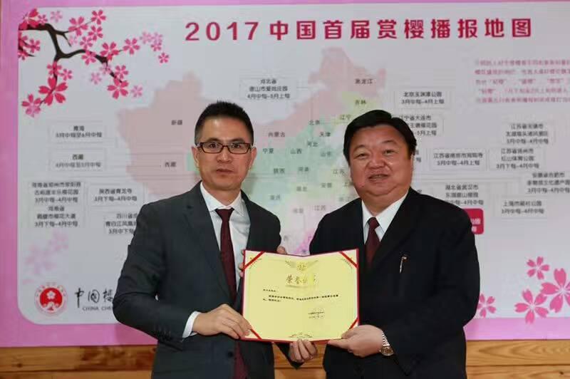 中国樱花花期首次全国播报