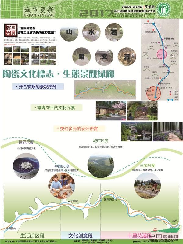 浙江省杯子图案设计院园林获艾景奖风景项目v杯子创意