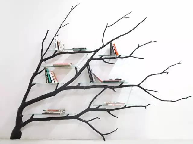 花卉礼仪 >> 正文   自然倾斜的纹路充满艺术气息 或者几根树枝涂漆后
