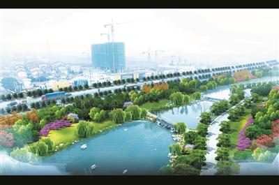 """湖南岳阳:新植30万株乔木打造""""百园之城"""""""