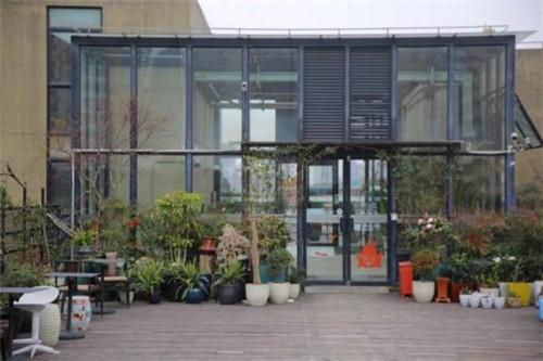 宋小林:年轻店主打造一座空中花园