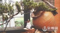 植物造型:废弃酒瓶酿成奇异盆景
