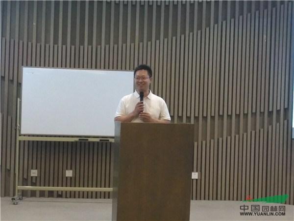 东方园林环境集团工程中心副总裁冉林