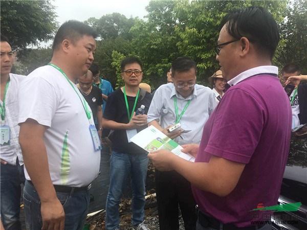 2017苗乡行广西线第二天,走进广西深根园林工程有限公司