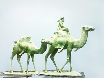 """青岛雕塑展 153件雕塑讲述""""丝路故事"""""""