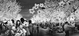 迪士尼效果图