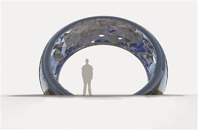 """杭州:北软""""众创空间""""雕塑大赛冠军作品出炉"""