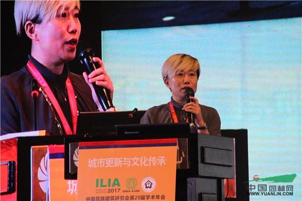 北京纳墨园林景观规划设计有限公司设计总监张华发表主题演讲《老河湾