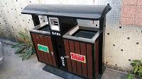 潮州市区新增新型垃圾箱