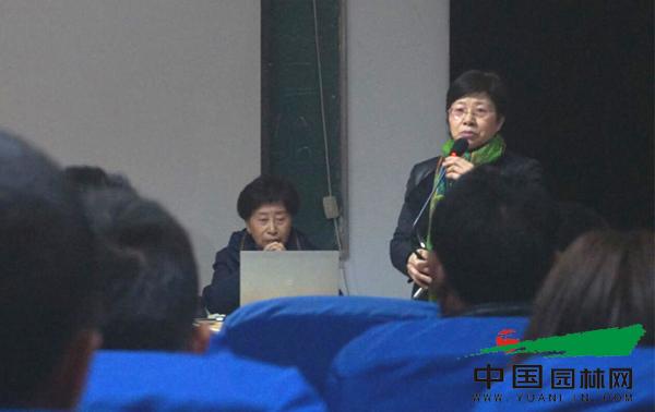杭园协第二期宿根花卉养护技术培训活动圆满结束
