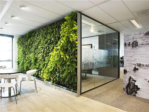 最新垂直绿化植物墙做法_各种类型以及特点解析