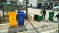 明光涧溪镇:分类垃圾桶 助力美丽乡村建设