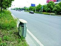 江苏淮安:垃圾箱摆对位置很重要